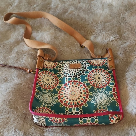 Fossil Handbags - Fossil floral canvas bag